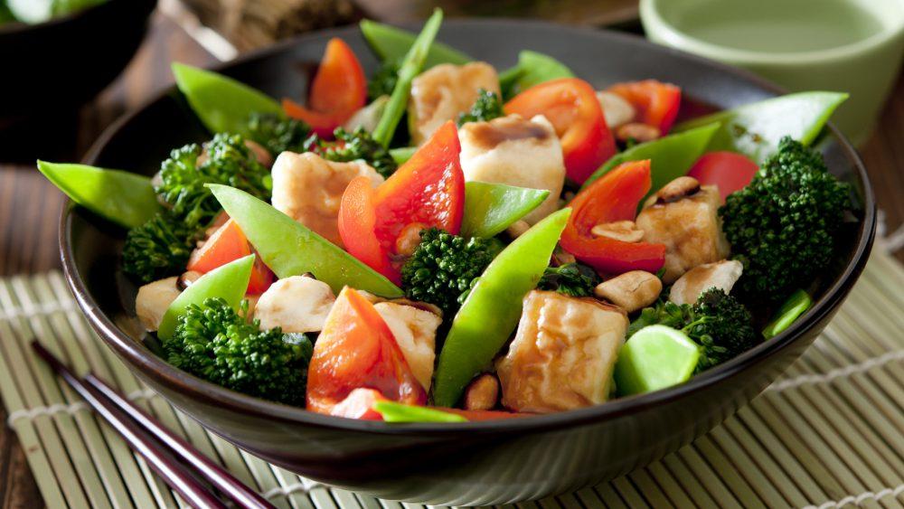 Comida con Verduras
