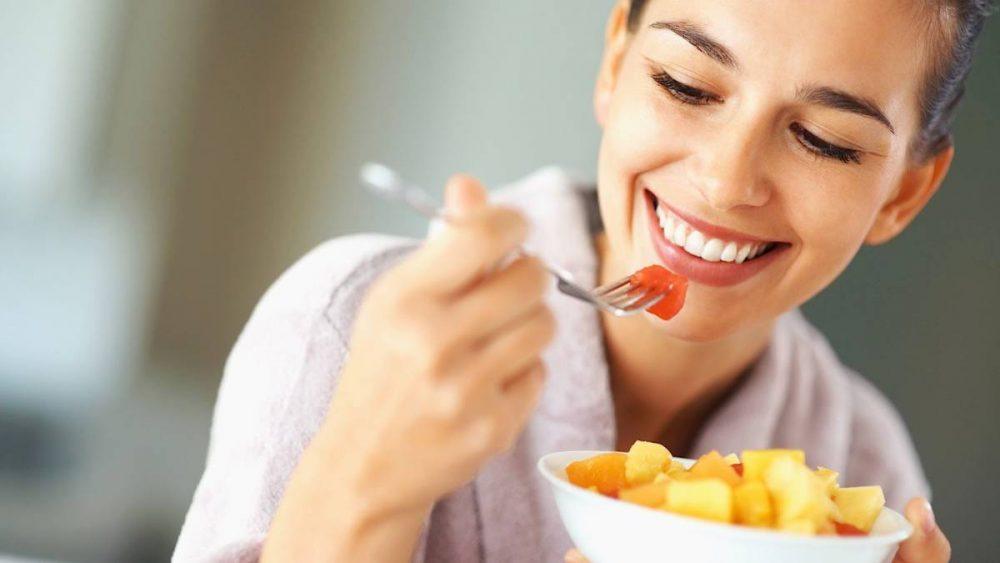 Le ayudarán a comer más despacio