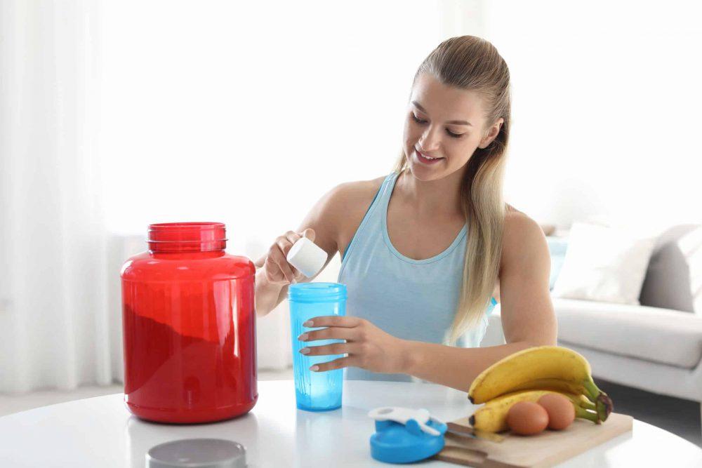 Polvos de proteína para la pérdida de peso