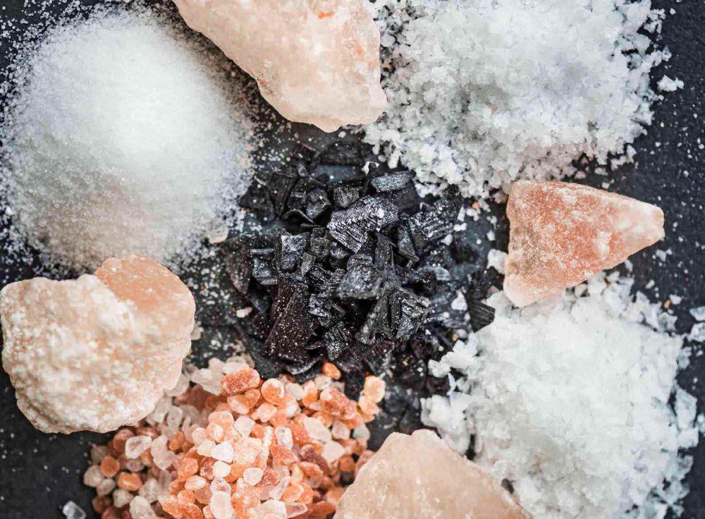Tipos de sal: Himalaya vs Kosher vs Regular vs Sal marina