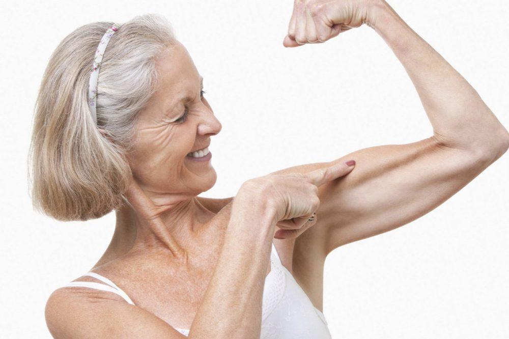 perder masa muscular con la edad