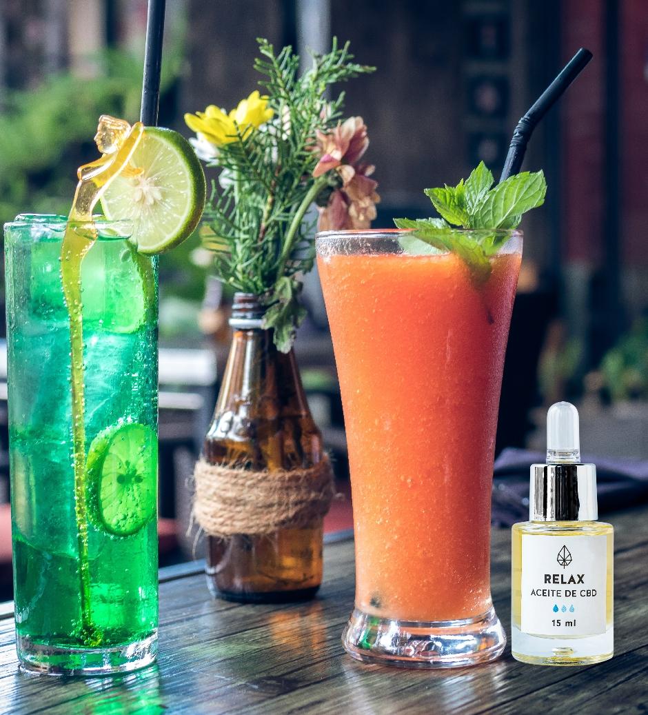 ¿Deberías mezclar CBD con alcohol?