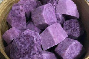 7 Beneficios del ñame púrpura (Ube), y cómo se diferencia del taro