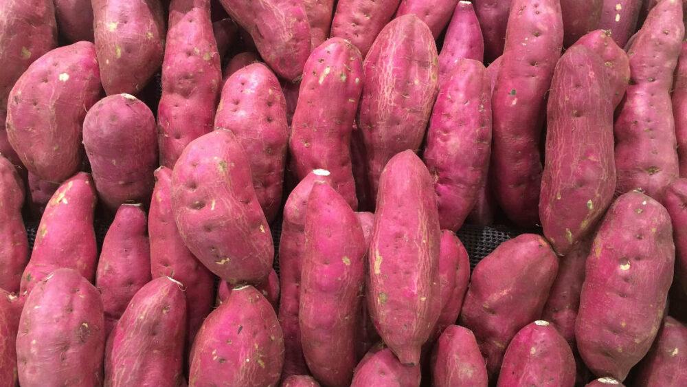 Ñame Purpura Ricos en antioxidantes