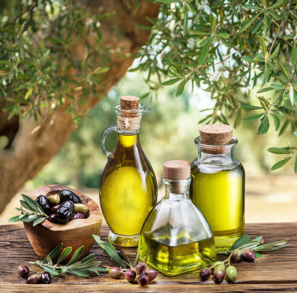 Aceite de oliva contiene antioxidante