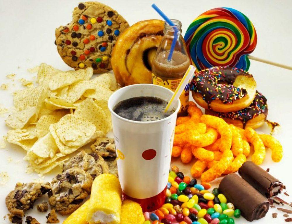 Alimentos con azúcar añadidos