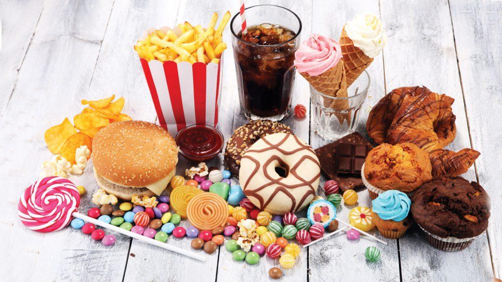 Alimentos con azucar añadida