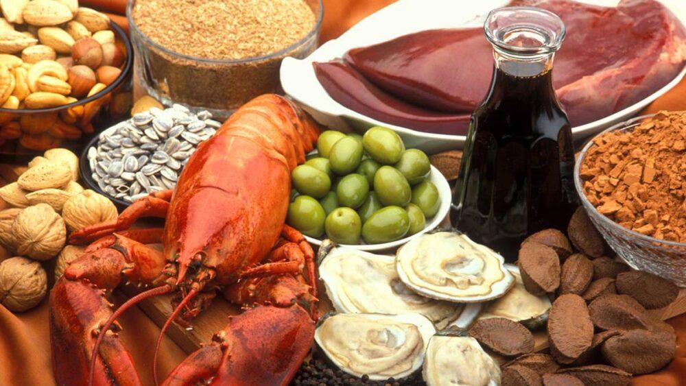 Alimentos ricos en cobre