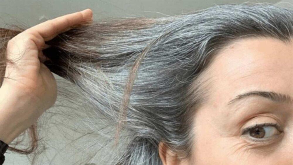 Cabello gris por falta de cobre