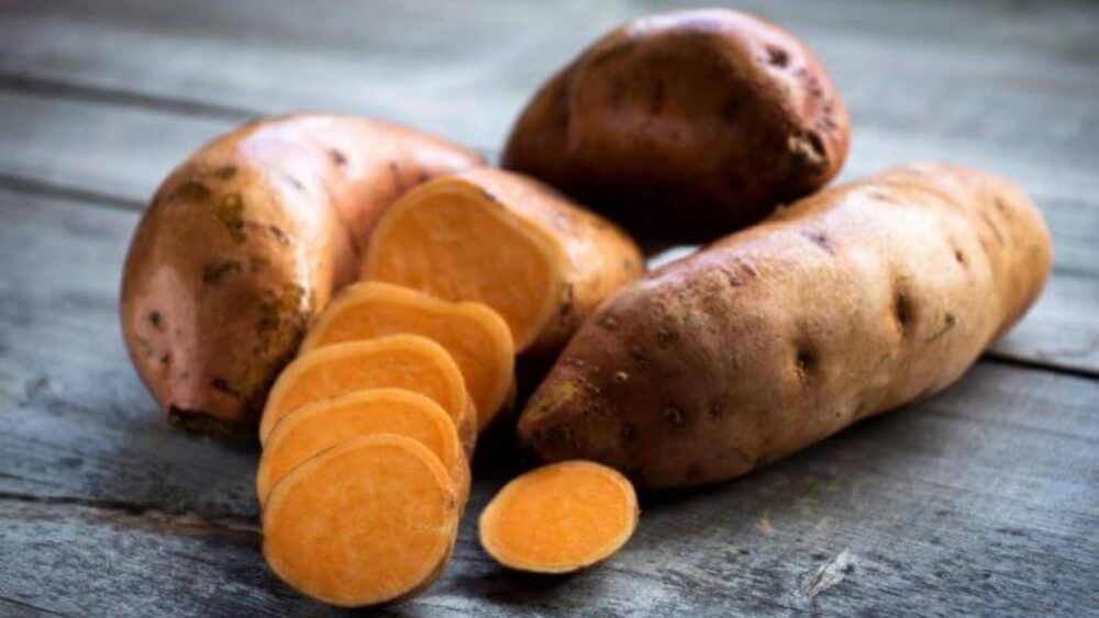 Carbohidratos de la batata