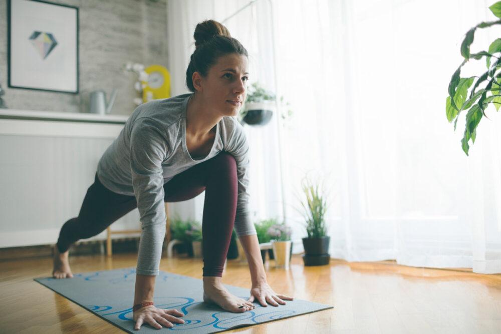Comience hacer ejercicio luego de un Bing
