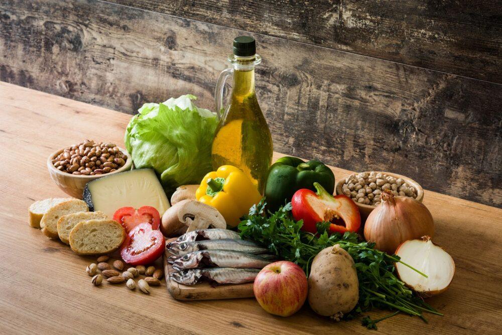 Dieta mediterránea para evitar el acné