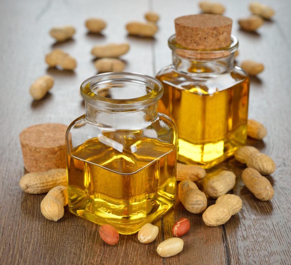 El aceite de maní es alto en grasas Omega-6