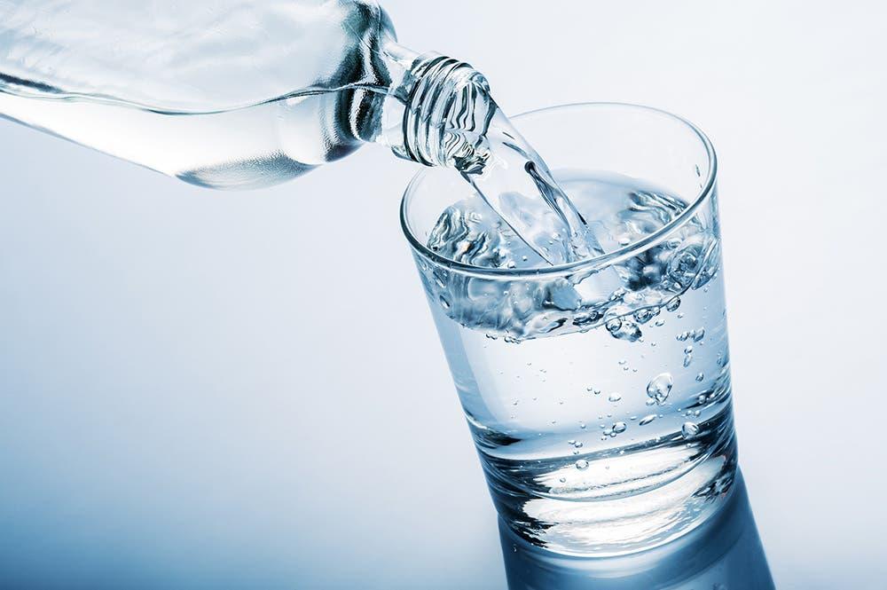 El agua en ayuno