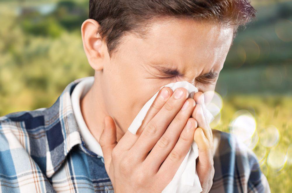 El melocotón ayuda a reducir la alergia