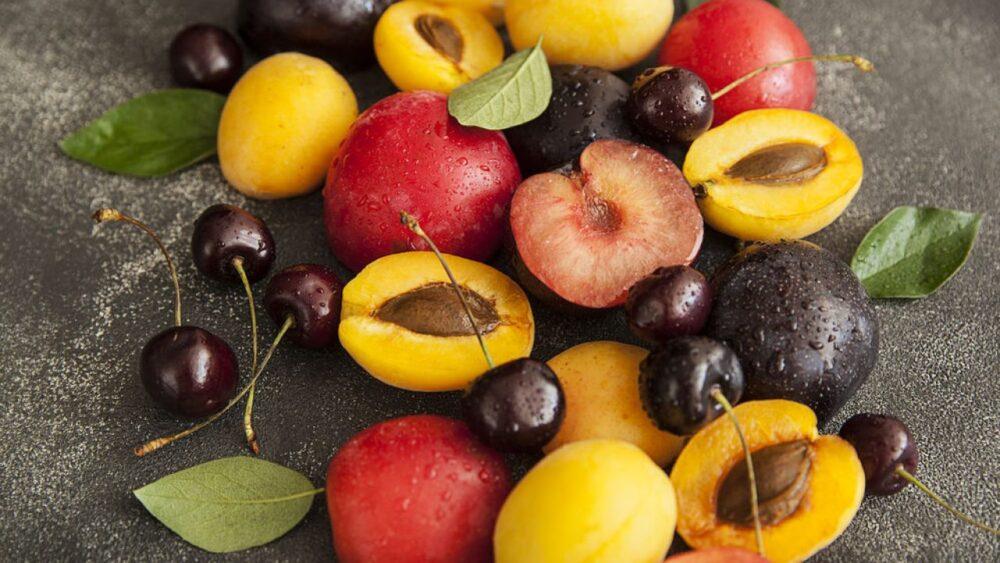 6 Deliciosas y saludables frutas de hueso