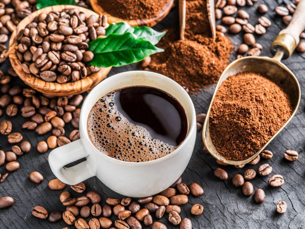 Granos de cafe excelente fuete de antioxidantes