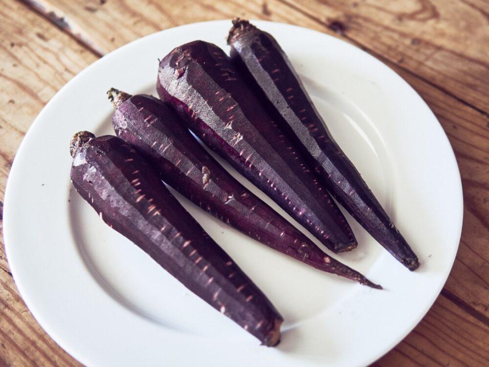 La zanahoria morada tiene efectos anticancerigenos