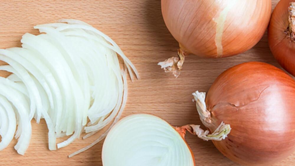 Las cebollas son una fuente rica en fibra y prebióticos
