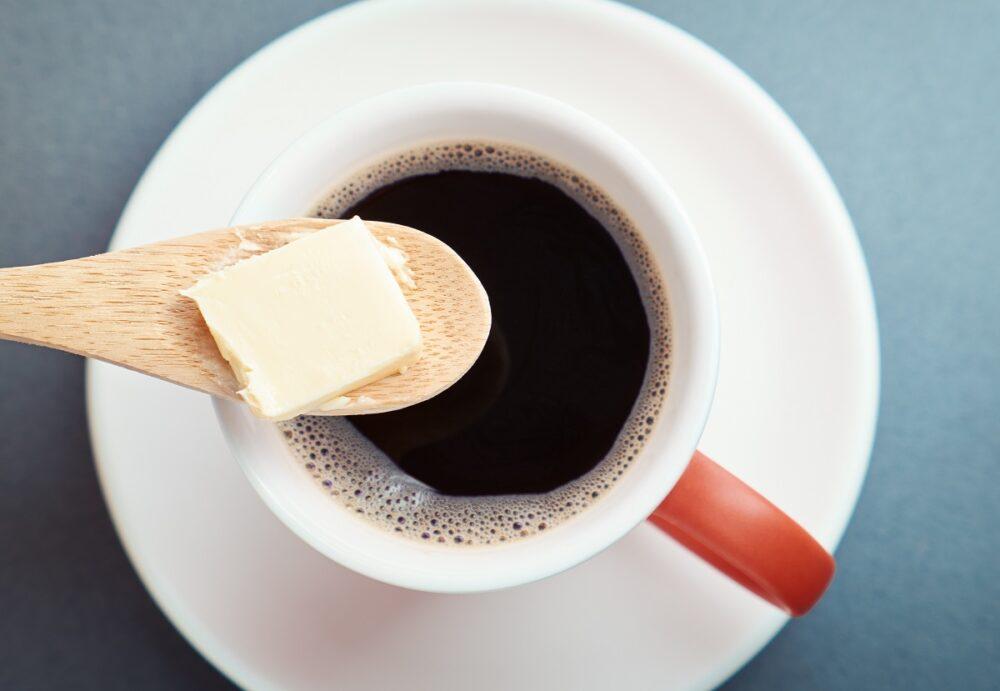 Mantequilla con café