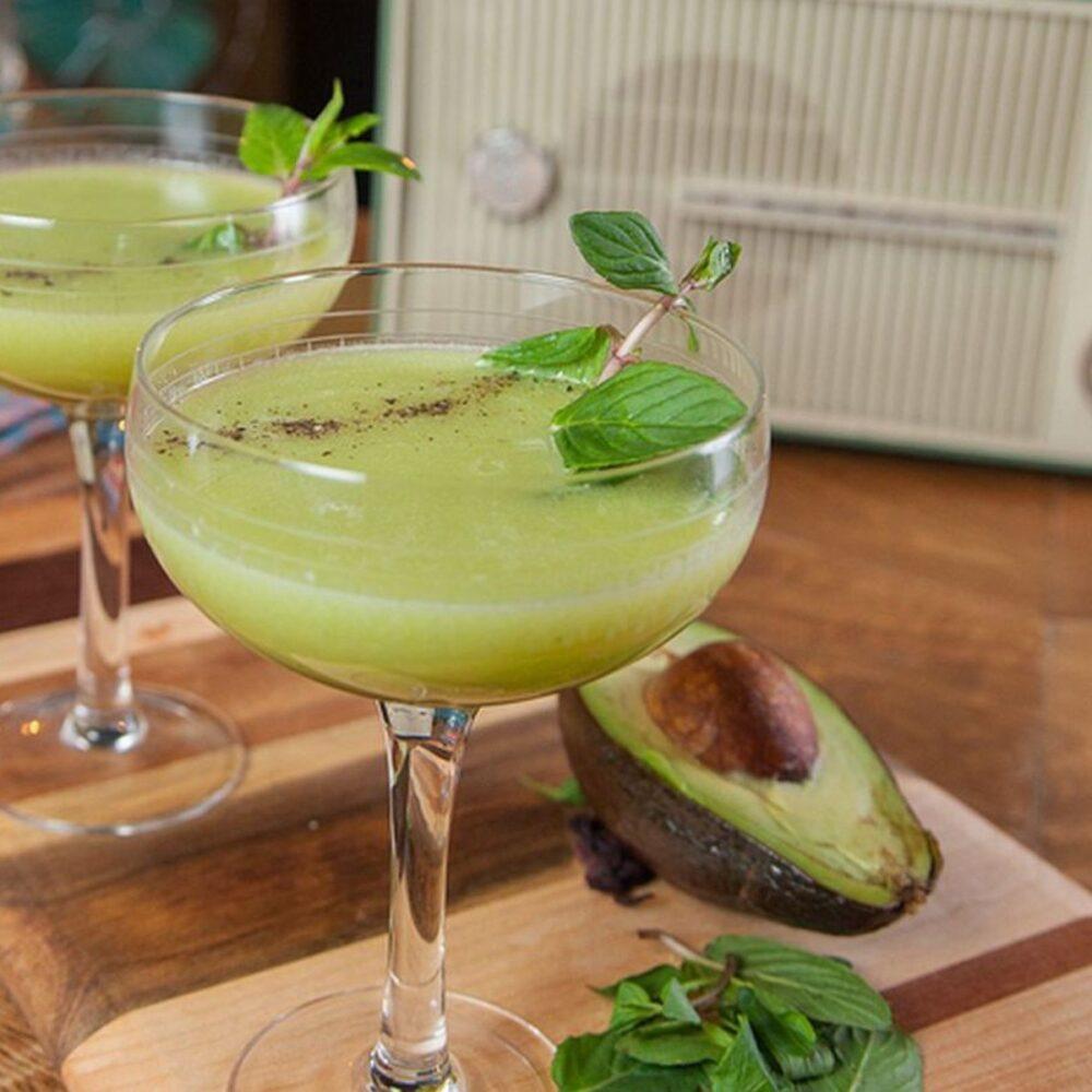 Martinis de aguacate