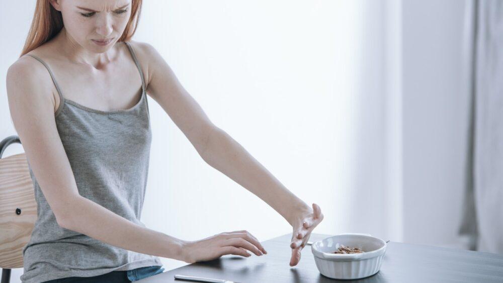 Negación del hambre y rechazo a comer