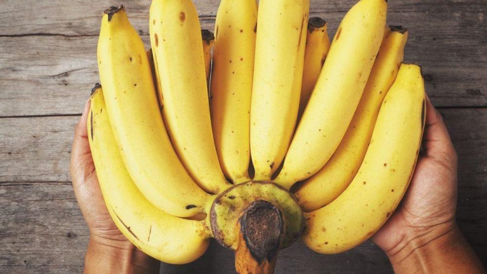 Plátano contiene antioxidantes