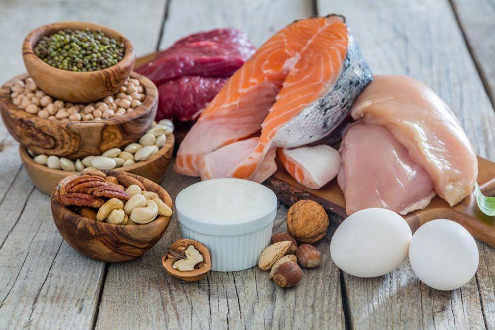 Proteínas para mantener un cuerpo fuerte y sano