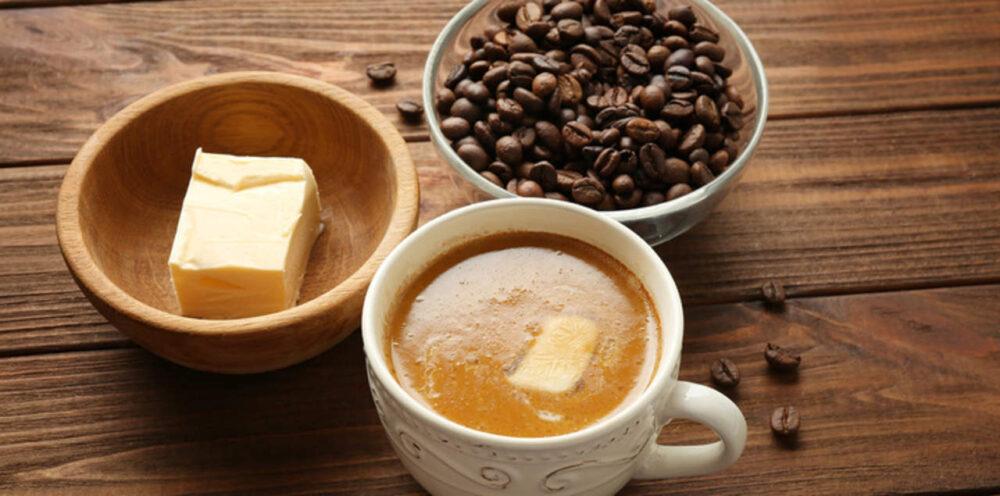 Tener en cuenta el equilibrio de café y mantequilla