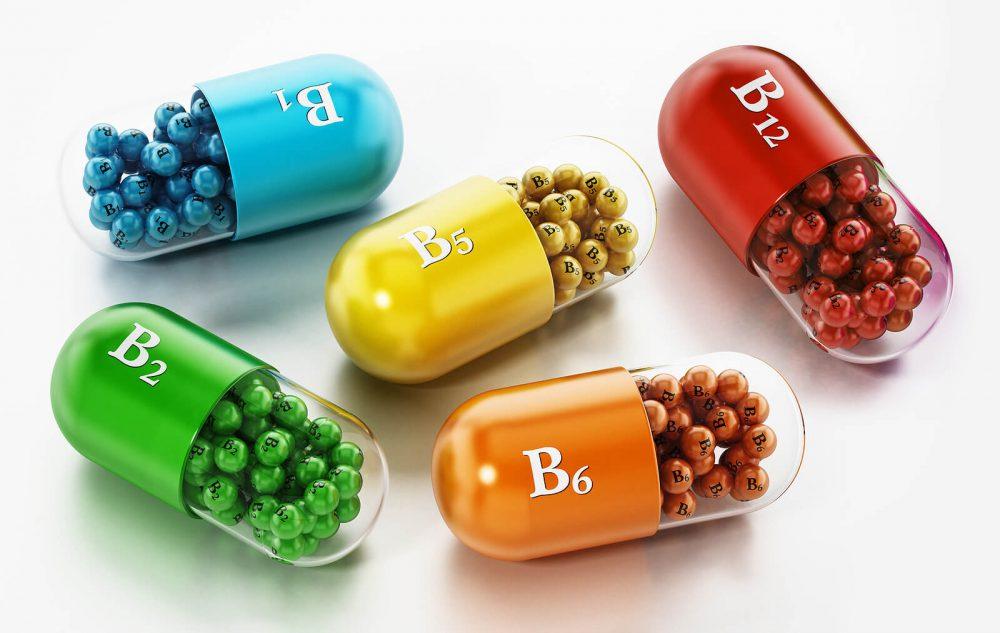 Vitaminas de los micronutrientes