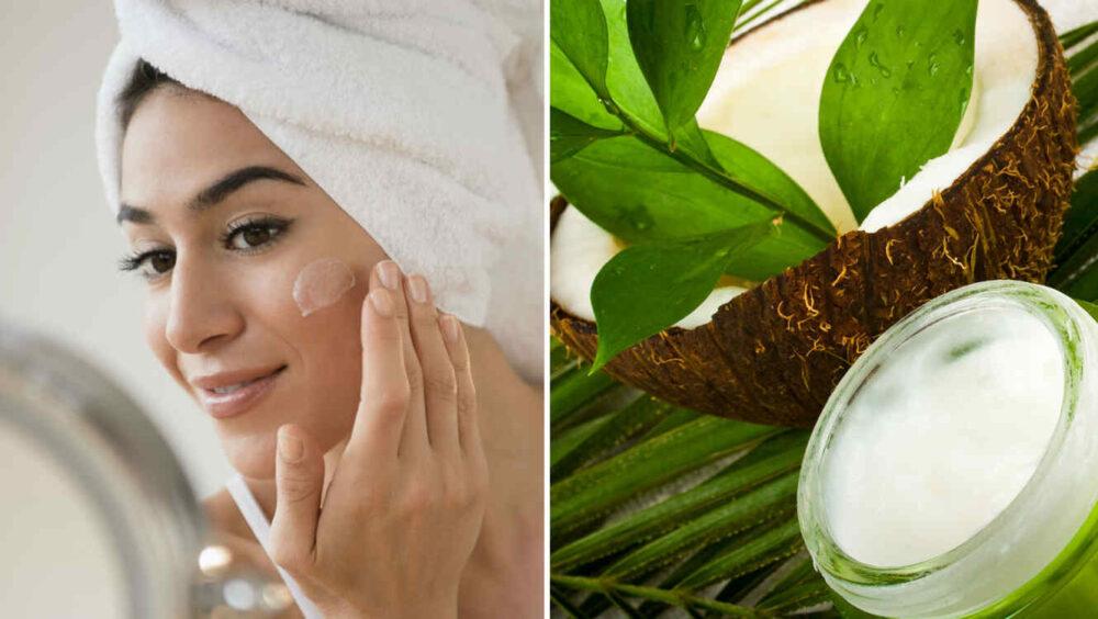 ¿Es el aceite de coco bueno para la piel?