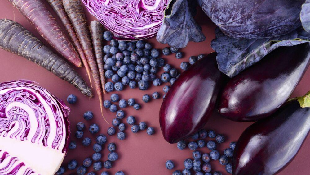 16 Alimentos púrpura deliciosos y nutritivos