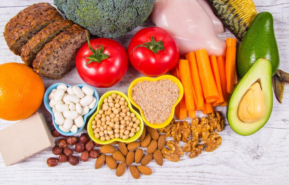 16 alimentos con alto contenido de niacina (vitamina B3)