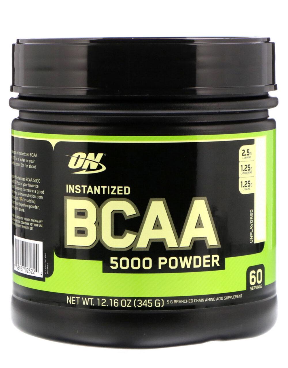 5 Beneficios comprobados de los BCAA (aminoácidos de cadena ramificada)