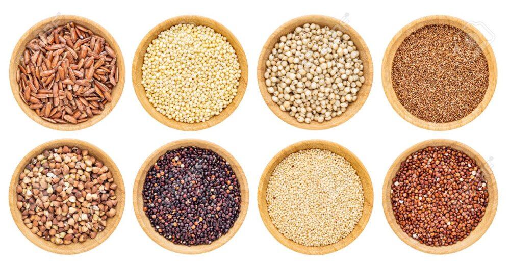 8 granos sin gluten que son súper saludables
