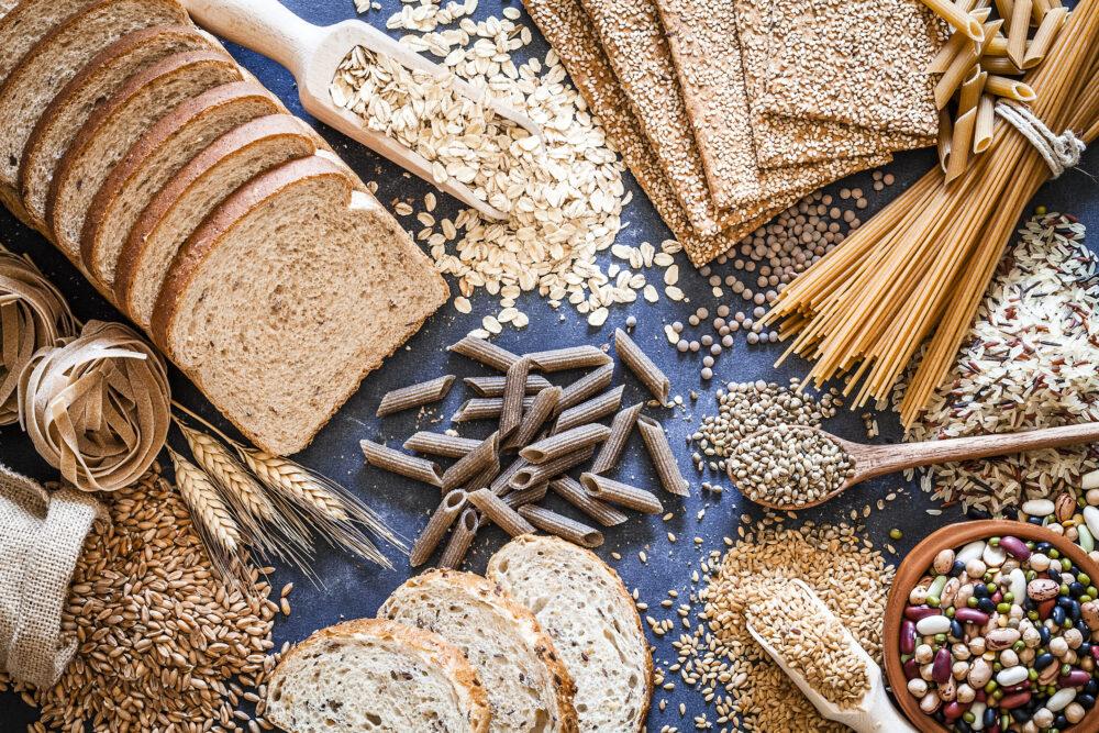 Alimentos con alto contenido de carbohidratos