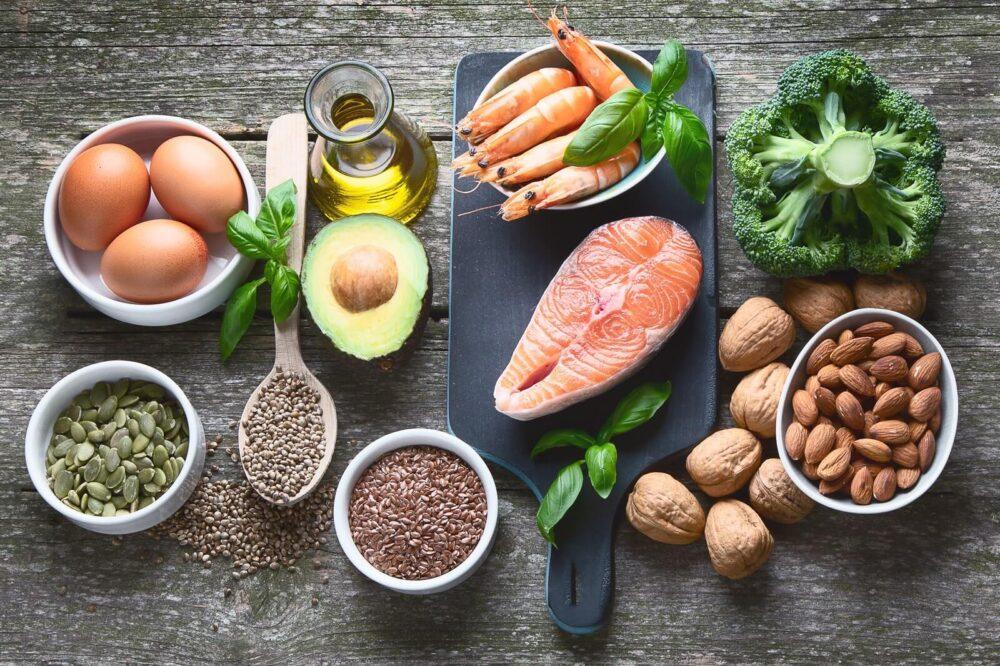 Alimentos con alto contenido de grasa saludable