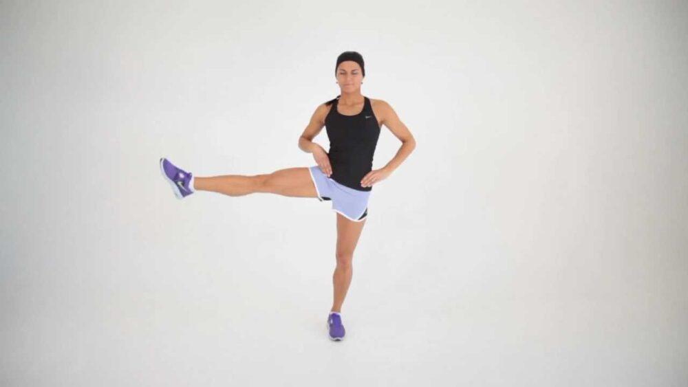 Balanceo lateral de la pierna