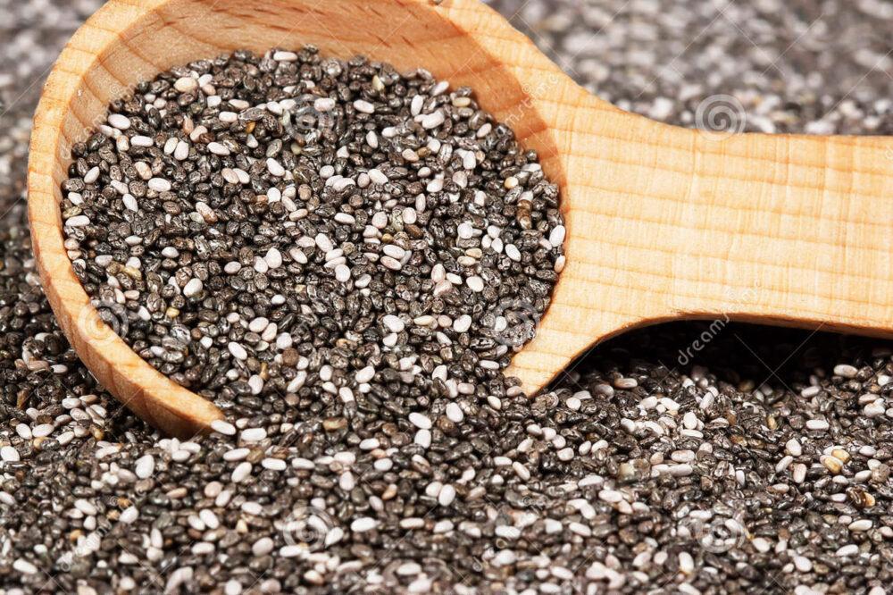 Carbohidratos y fibra de la semilla de chia