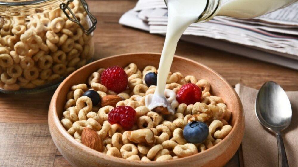 Cereales de desayuno endulzados