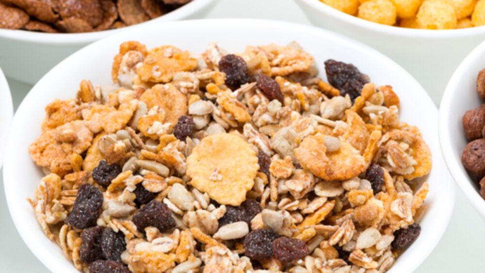 Cereales para el desayuno, yogures y otros alimentos con azúcares añadidos