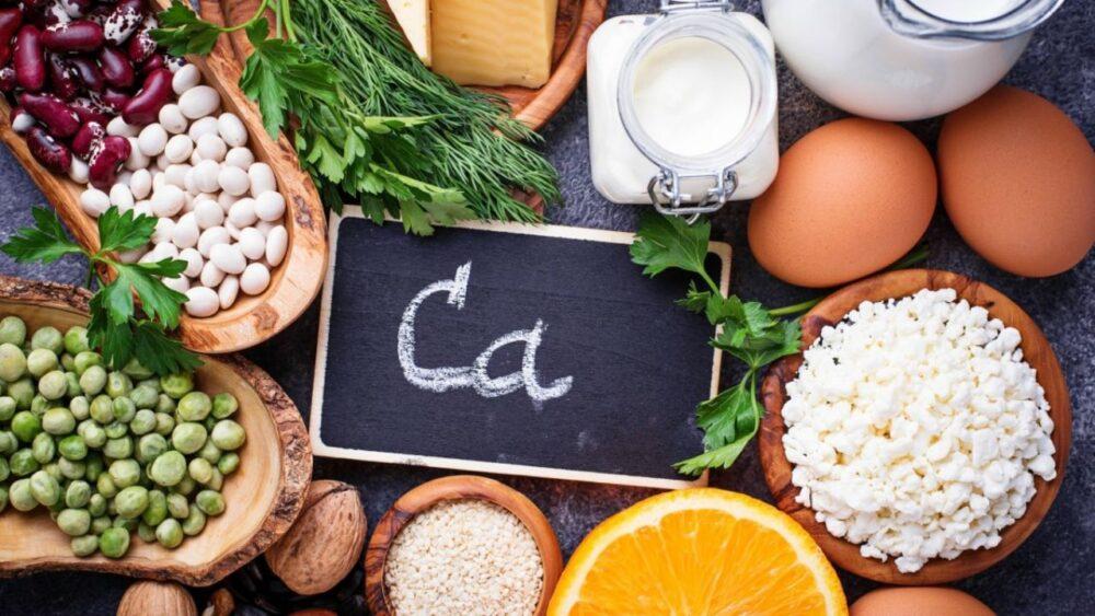 Coma alimentos con calcio