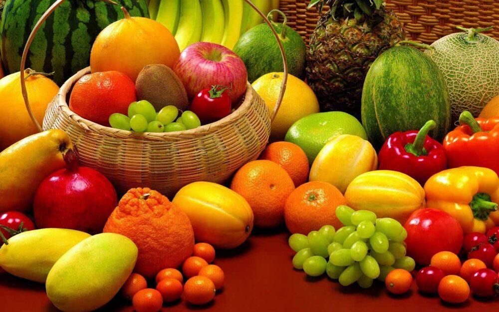 Coma muchas frutas y verduras