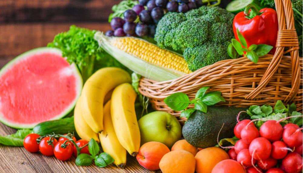 Come más verduras y frutas