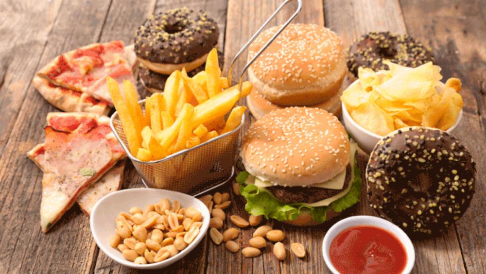 Comidas fritas y rápidas