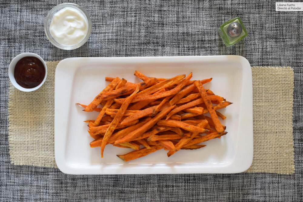 Diabetes tipo 2 y las papas fritas normal y dulces
