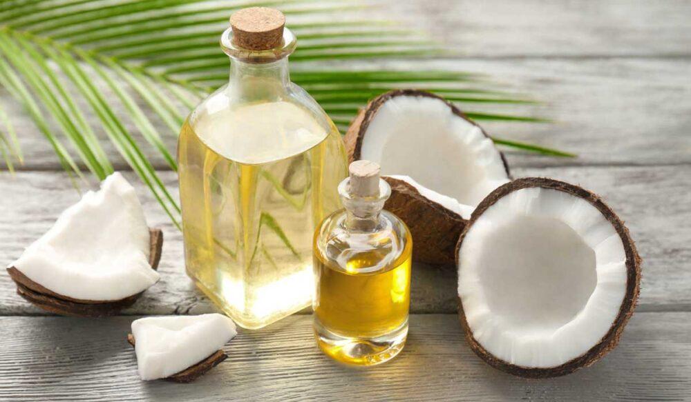 El aceite de coco puede ayudar a la cicatrización de heridas