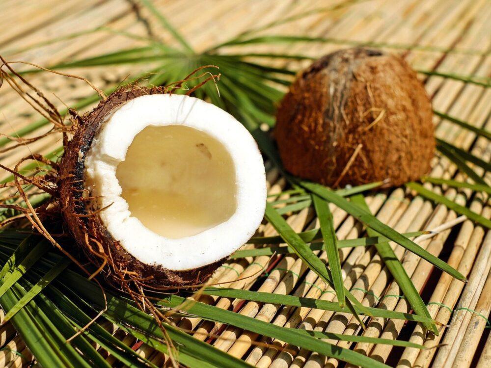 El aceite de coco virgen puede reducir la grasa