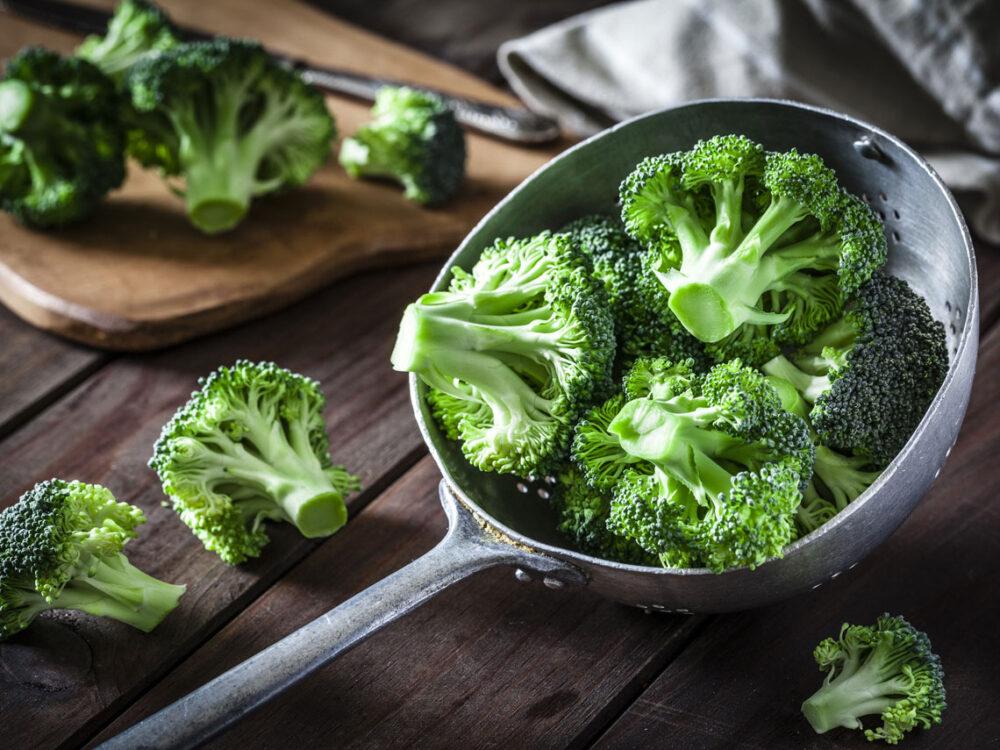 El brócoli contiene folato
