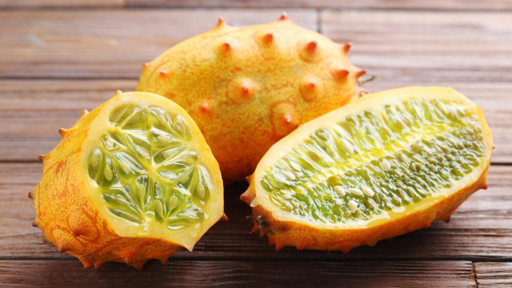 7 Beneficios del Kiwano (melón con cuernos) - Y cómo comerlo